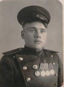 Обрезков Николай Алексеевич во время службы