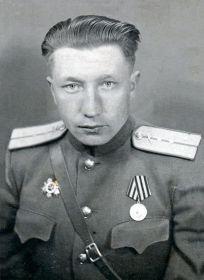 Хамов Иван Романович капитан во время войны