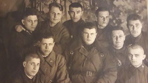 Фотография в момент формирования дивизии, г. Люберцы Московской области