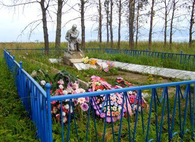 Братская могила. Ржевский район.