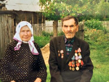 Гаврил Демьянович и его жена Анастасия Захаровна