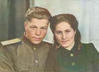 С любимой женой Крайновой Валентиной Александровной