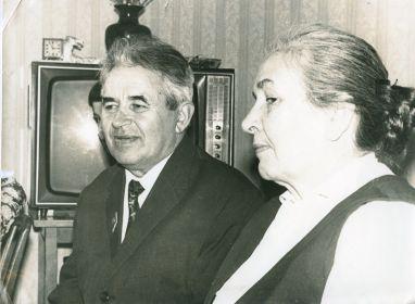 Мария Константиновна с мужем, Габбасом Хасановичем