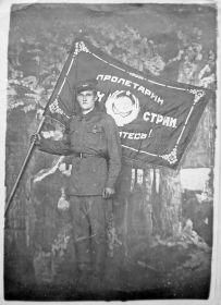 Отличник боевой подготовки. Красноярск, 15.09.1940