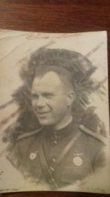 Зубов-Сеймар Григорий Филиппович дядя бабушки моей жены (фотография с фронта ВОВ 20.09.1943 )