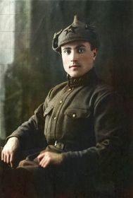 08.04.1932 года, город Баку, служба в Рабоче-крестьянской Красной армии