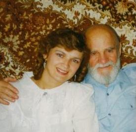 Мы с дедулей. На фотографии ему 87 лет.