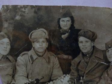 С партизанами в г. Суботица