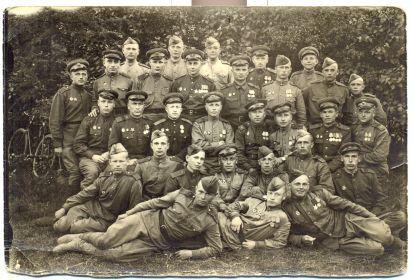 25 мая 1945 года. Город Познь, местечко Беднары. Сержантский состав 29-го Гвардейского Бомбардировочного Красносельского авиационного полка