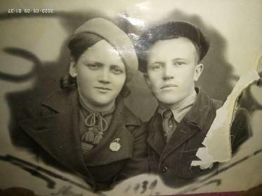 Бабушка и дедушка 1939 год