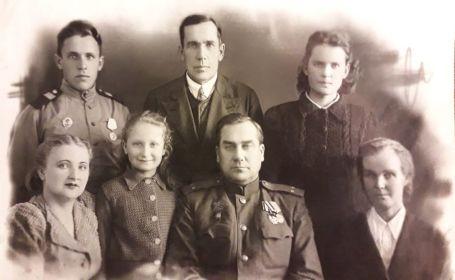 Свинцовы с семьей Бронзовых - Кирилл Александрович с женой Александрой и дочерью Маргаритой