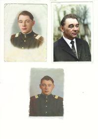 Сохранившиеся фотографии во время войны и после