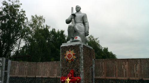 Памятник погибшим в с.Иноковка-1 Кирсановского р-на (2018г).