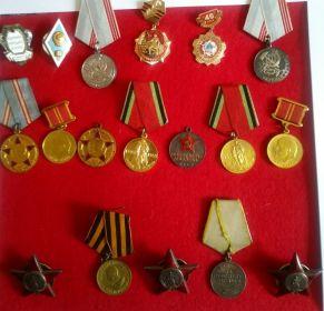 Все медали дедушки.