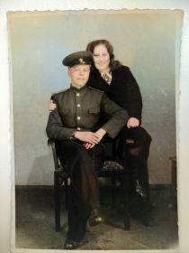 С женой Валентиной