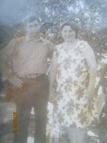 Мама с отцом 1970-й год.