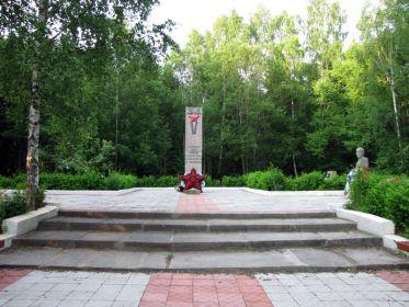 Братская могила №17 поселок Красносельское, Выборгского р-на, Ленинградской обл.