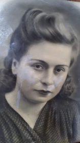 Моя бабушка Тамара Матвеевна Кордик - сестра Володи Кордик