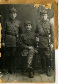 с товарищами, 1941 год