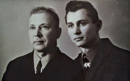 Бодня Пётр Васильевич и Бодня Юрий Петрович