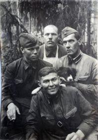 с. Заречье под Новгородом, 1942 год
