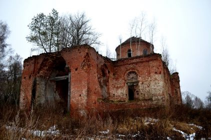 храм Михаила Архангела село Берестна, район места гибели