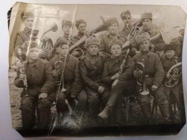 Фото сделано в дни войны 20 марта 1945 г
