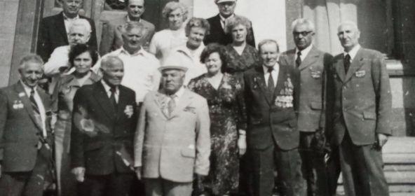 Встреча ветеранов. Москва