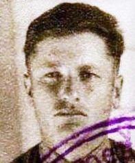 Фото с учетной карточки 1941 г.