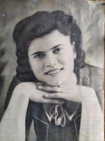 Сазанова(Сабурова)Клавдия Алексеевна