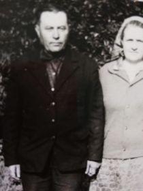 С женой Екатериной Васильевной