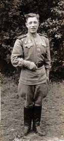 младший лейтенант 1945 г.