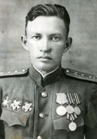 Капитан 941-го арт.полка Трубин Андрей Александрович