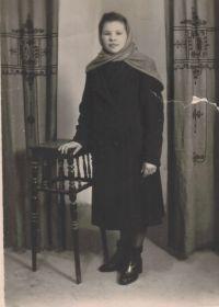 Мария  Ефимовна  в  молодости