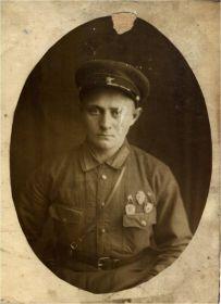 Красноармеец Завьялов Алексей Иванович