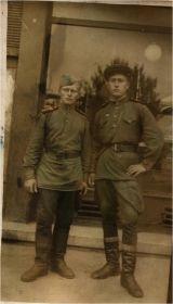 Фото Завьялова Алексея Ивановича с боевым товарищем