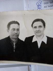Сушкова Е.В. с мужем Сидором Андреевичем