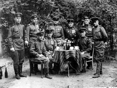 Кенигсберг 21 полк связи, 38 отделение автополка .