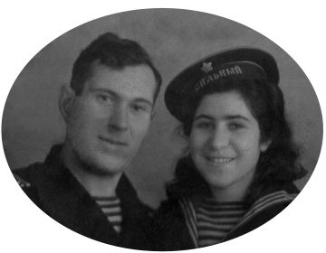 Федор и Мария Бецис, 1946