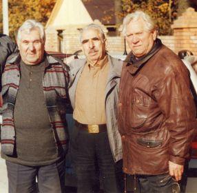 Три брата (слева направо): Федор, Леонид и Михаил Бецис