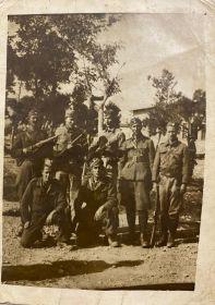 Крылов Григорий в партизанском отряде в Греции (ЭЛАС)