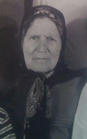 Вепрева Екатерина Яковлевна. Солдатская вдова, труженик тыла