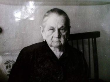 Чусовитина Александра Анисимовна. Солдатская вдова, труженик тыла
