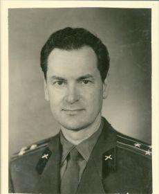 Полковник Белов Акинф Григорьевич, начальник кафедры боеприпасов ПВАИУ (1965-1974 г)
