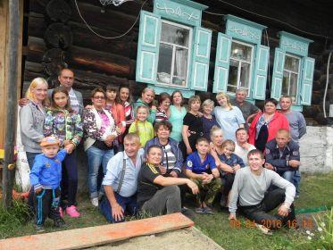 Семейство Русаковых  в деревне Боровая / Потомки Героя /