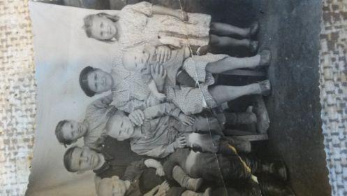 Семейное фото после войны