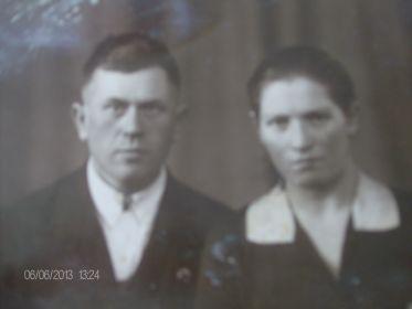 Скстра Нина с мужем Константином