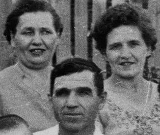 С братом Николаем и сестрой Федостьей