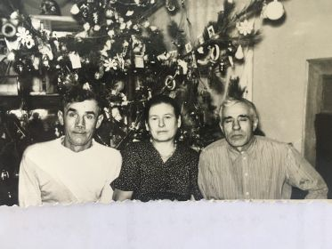 Андрей Фролович и сваты, Витченко Милания Ивановна и Александр Гордеевич.