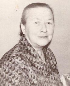 Чистякова А.И. на 30-летии сына 17.01.1981г